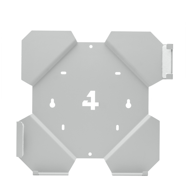 4mount Wall Mount Bracket White for Playstation 4 Slim Console