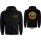 Guns N' Roses - Classic Logo Men's XX-Large Zipped Hoodie - Black