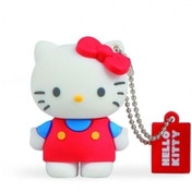 Tribe Funny Hello Kitty Classic 8 GB USB 2.0 Flash Drive Red
