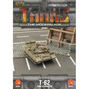 TANKS: The Modern Age Sov T-62/T-62M Board Game