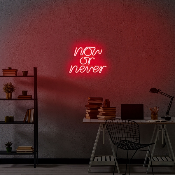 Now or Never - Red Red Wall Lamp