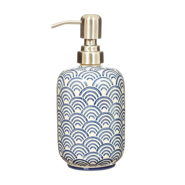 Sass & Belle Blue Wave Soap Dispenser