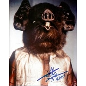 Star Wars Signed 10X8 Signed Rusty Goffe - Kabe