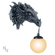 Gothic Dragon Wall Light UK Plug
