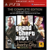 Grand Theft Auto IV 4 GTA Complete Edition Game (Greatest Hits) PS3 (#)