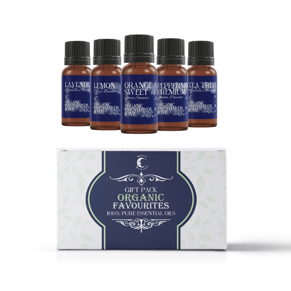 Mystic Moments Organic Favourite Essential Oils Gift Starter Pack