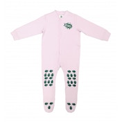 Creeper Crawlers Baby Easy Grip Crawl Bodysuit 12-18 Months Pink