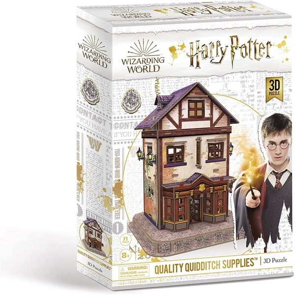 Harry Potter Quality Quidditch Supplies 3D Jigsaw Puzzle - 71 Pieces