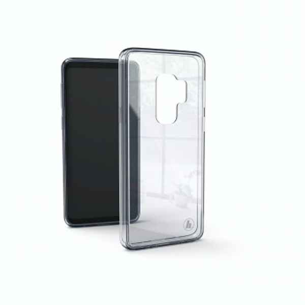 "Hama ""Glass"" Cover for Samsung Galaxy S9, transparent"