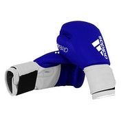 Adidas 100 Hybrid Boxing Gloves  Blue  14oz