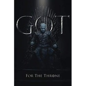 Game Of Thrones The Night King For The Throne Poster 61 x 91.5cm