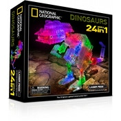 Laser Pegs 24 in 1 National Geographic Dinosaurs Construction Set