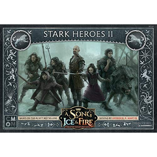 A Song Of Ice and Fire Stark Heroes Box 2 Expansion