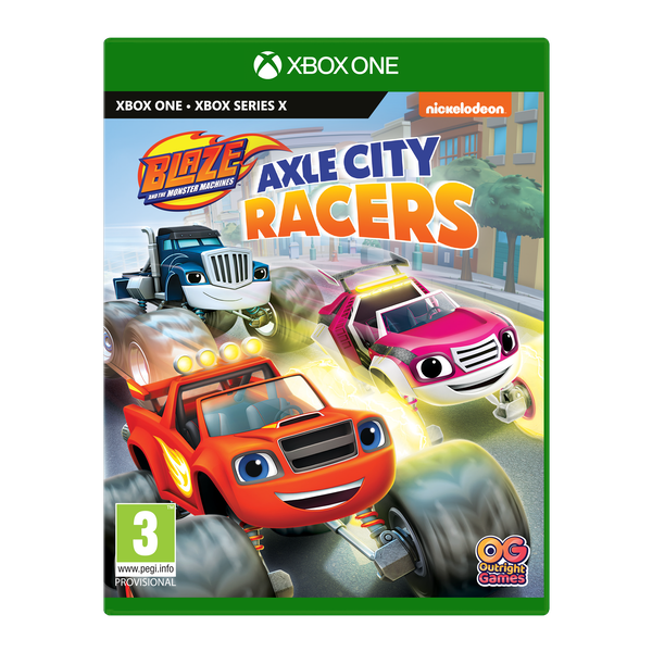 Blaze and the Monster Machines Xbox One | Series X Game