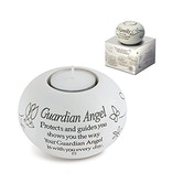 Said with Sentiment Tea Light Holders Guardian Angel