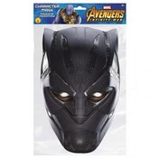 Black Panther Avengers Party Mask