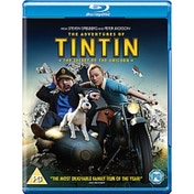 Adventures Of Tintin The Secret Of The Unicorn Blu-ray