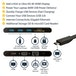 StarTech USB-C Multiport Adapter with HDMI and VGA - 3x USB 3.0 - SD - PD 3.0 - Wraparound Cable - Image 2
