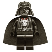 LEGO Star Wars Darth Vader Minifigure with Medal