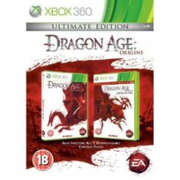 Dragon Age Origins Ultimate Edition Game Xbox 360