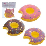 Donut Fast Food Inflatable Drinks Holder (1 Random Supplied)