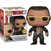 The Rock Old School Chase Edition (WWE Series 6) Funko Pop! Vinyl Figure