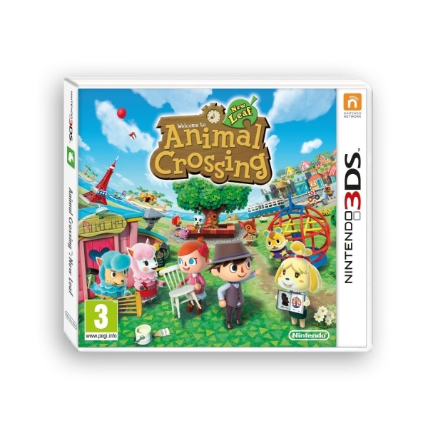 Animal Crossing New Leaf Game 3DS
