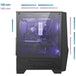 MSI MAG FORGE 100M Mid Tower Gaming Computer Case Black, 2x 120 mm RGB PWM Fan - Image 3