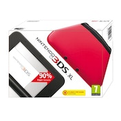 Nintendo 3DS XL Handheld Console Red & Black