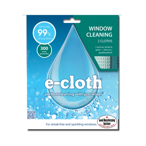 E-Cloth Window Pack 2 Cloths