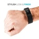 Yousave Activity Tracker Strap Single - Black (Large) - Image 2