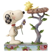Nest Warming Gift Snoopy and Woodstock (Peanuts) Jim Shore Figurine