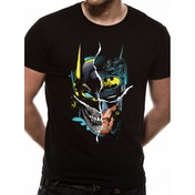 Batman - Gotham Face Men's Small T-Shirt - Black