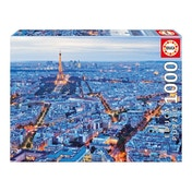 EDUCA France Paris City Lights 1000 Piece Jigsaw Puzzle