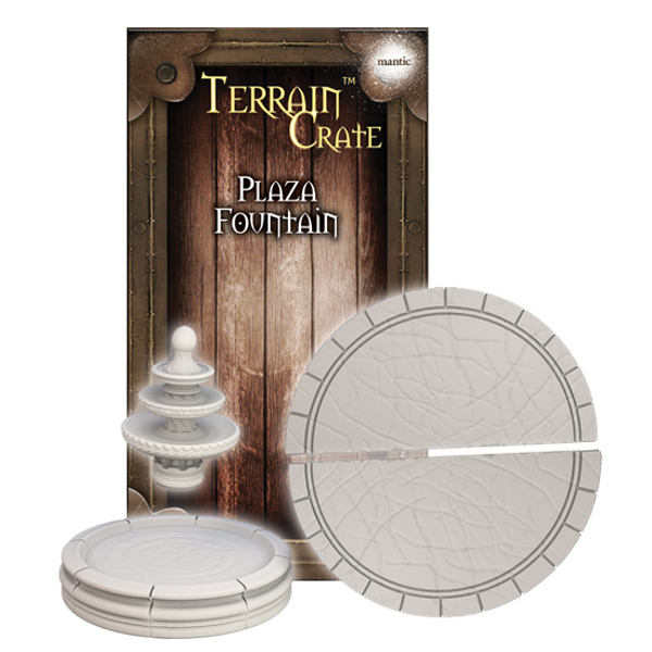 TerrainCrate: Plaza Fountain