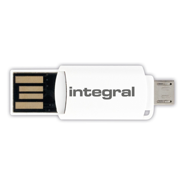 Integral USB2.0 Card Reader USB And Otg Micro USB For Micro SD