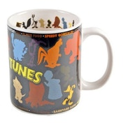 MugBug Looney Tunes Collage Logo Novelty Coffee/Tea Mug
