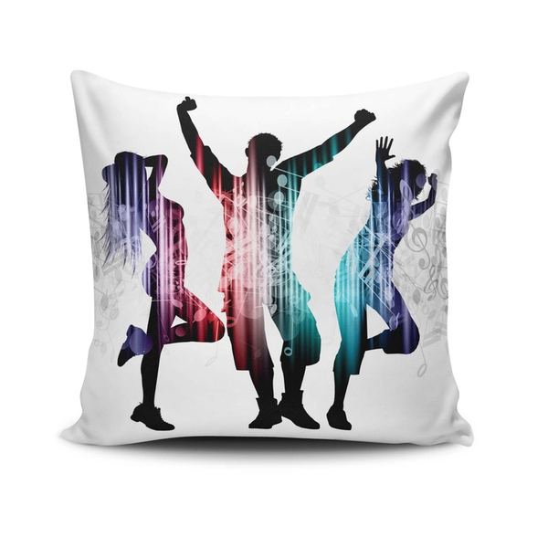 NKLF-343 Multicolor Cushion Cover