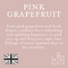 Pink Grapefruit (Pastel Collection) Reed Diffuser - Image 4