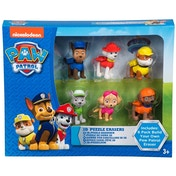 Paw Patrol 3D Puzzle Erasers - Pack of 6