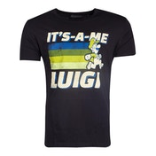 Nintendo - It'S-A-Me Luigi Men's Medium T-Shirt - Black