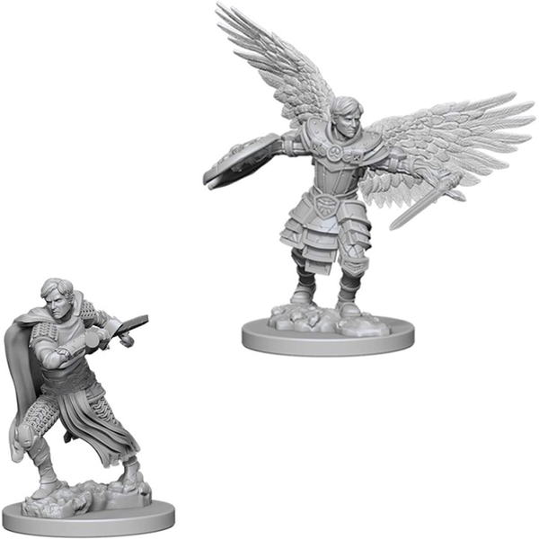 Dungeons & Dragons Nolzur's Marvelous Unpainted Miniatures (W1) Male Aasimar Fighter