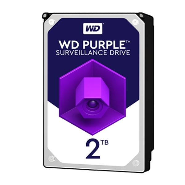 WD Purple WD20PURZ 2TB 3.5inch 5400RPM 64MB Cache SATA III Surveillance Internal Hard Drive