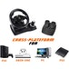 Superdrive GS500 Multi Format Steering Wheel with Pedals and Gear Lever - Image 5