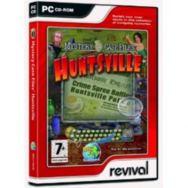 Mystery Case Files Huntsville Game PC