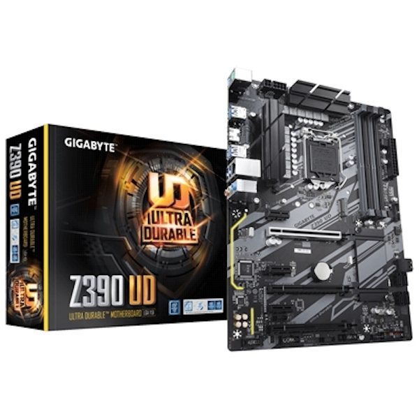 Gigabyte Z390 UD Ultra Durable Intel Socket 1151 ATX HDMI DDR4 USB 3.0 Motherboard