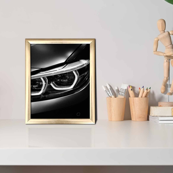 ACT-034 Multicolor Decorative Framed MDF Painting