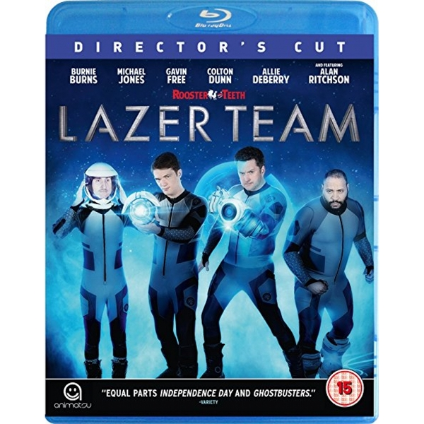 Lazer Team Director's Cut Blu-ray