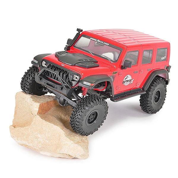 Ftx Outback Mini X Fury 1:18 Trail Ready-To-Run Red