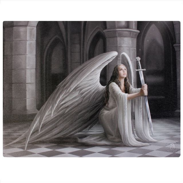 Small The Blessing Canvas Picture By Anne Stokes